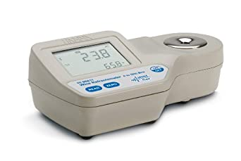 Hanna Instruments HI 96811 Digital Brix Refractometer for Professional Wine Analysis