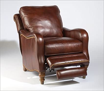 Sam Moore 9645.22 *QUICK SHIP* Tyler Leather Recliner In Curro Maple