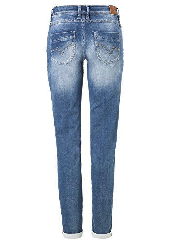 Jeans Timezone Donna A Romy Denim Dritto 3041 blue Regular Wash Taglio Jogg Blu gZgqOxtBwS