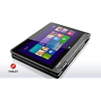 Thinkpad Yoga  11e  11.6-inch Touchscreen Convertible Laptop (Intel Quad Core Processor,4GB RAM, 128GB  SSD, Windows 10 Pro)