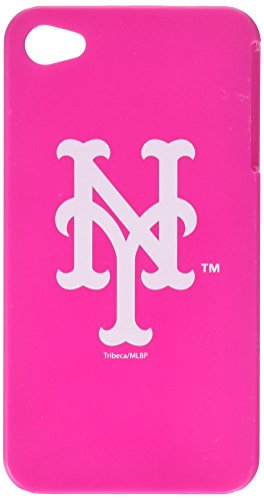 Tribeca  FVA4458 Varsity Jacket Pink Solo for iPhone 4, New York Mets - Pink