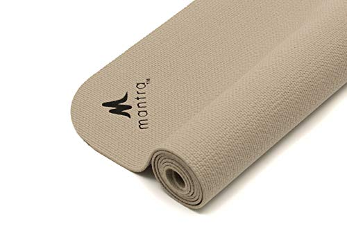 Endurance Yoga Mat (28″ x 76″) Wider, Longer Exercise Pad for Pilates, Stretching, Workouts, Fitness | Textured, Comfort | Lightweight, Portable, Hypoallergenic