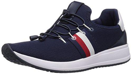 Tommy Hilfiger Women's RHENA Sneaker, Navy, 8 M US