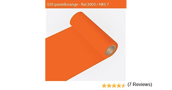 Your Design Vinilo Adhesivo para armarios de Cocina de - Oracal 631-63 cm Rollo - 5 M (Metro) - Pastel de Colour Naranja | Acabado Mate, A23oracal - 631-63 cm -09 - Ki: Amazon.es: Hogar