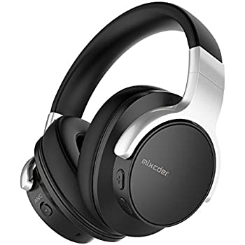 27ccfdefc66 Mixcder E7 Active Noise Cancelling Bluetooth Headphones with Microphone  Hi-Fi Stereo Headset Deep Bass Wireless Headphones Over Ear, Comfortable  Protein ...
