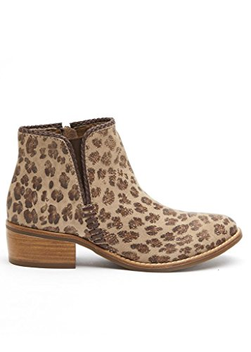Matisse MERGE Mid Top Leopard Cheetah Bootie Ankle Boot – Size 10 by Matisse