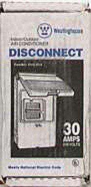 Cutler-Hammer 30A Nonfuse Ac Disconnect (Cutler Hammer Conduit Hub)