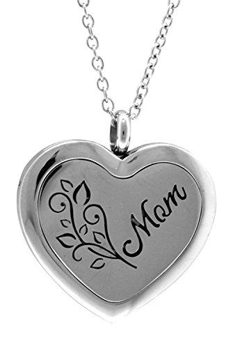 AromaRain MOM Heart Diffuser Necklace