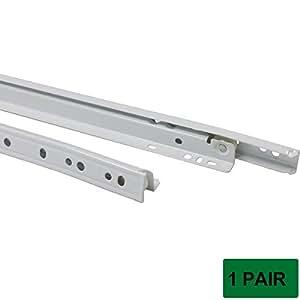 probrico dsmh102 drawer slides bottom mount white 22