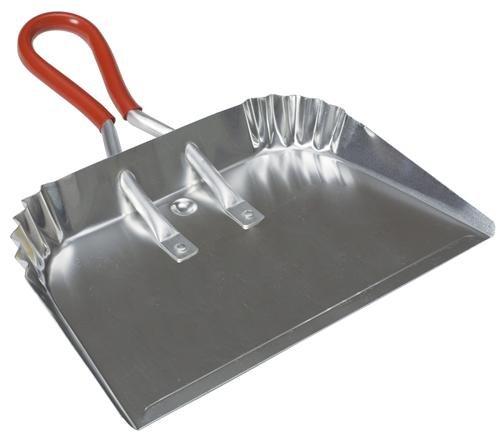 Finish Dustpan Aluminum Large Gray