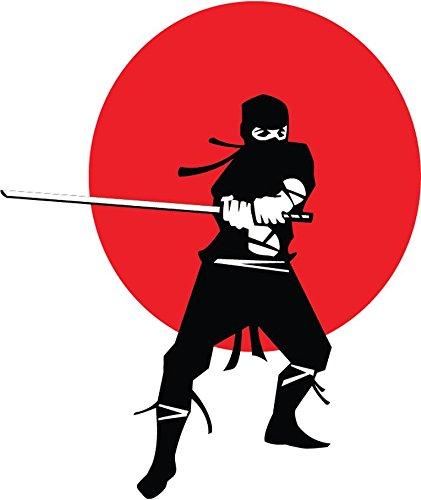 Amazon.com: Zirni Ninja Warrior Sticker Decal Design 4