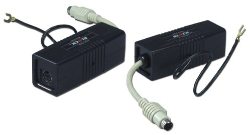 Qvs sp305 mini6 ps-2 dataline surge protector