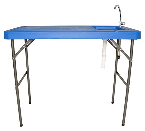 fish cleaning table with faucet - 6