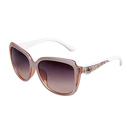 Viajes Color Gafas sol polarizadas Protección de Playa Conducción ZHIRONG Ms solar E B luz gafas UV de Gafas Protección a1qqxwzPF