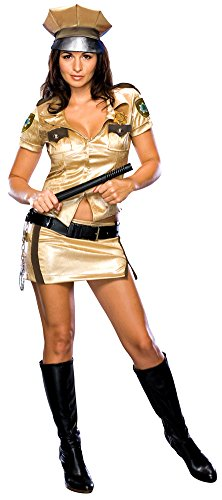 Reno 911 Costume Female (Reno 911 Female Deputy X-Small Halloween Costume)