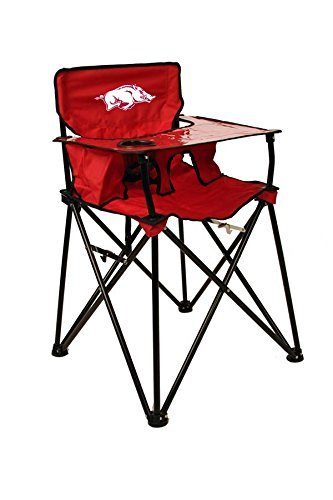 ARKANSAS RAZORBACKS NCAA ULTIMATE TRAVEL CHILD HIGH CHAIR by Rivalry Distributing by Rivalry Distributing