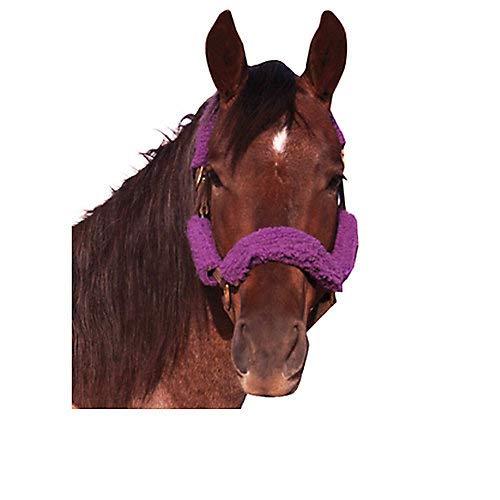 Intrepid International Fleece Halter Tube Set Purple