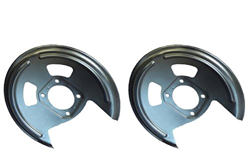 10 Bolt Rear Axle - 64-81 GM 10 12 Bolt Rear Axle End Disc Brake Conversion Backing Plates Staggered