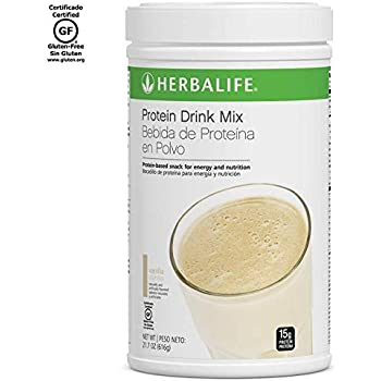 Amazon.com: Herbalife Protein Drink Mix - Vanilla Flavored ...