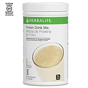 Herbalife Protein Drink Mix - Vanilla Flavored Soy Protein (616 g / 21.7 oz)