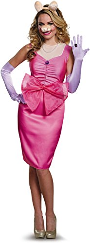 Miss Piggy Costume Women (Miss Piggy Deluxe Adult Costume - Medium)