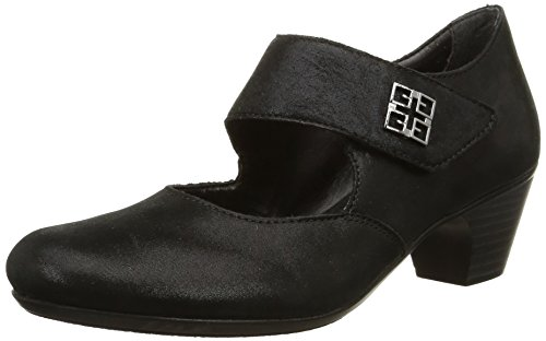 Rieker 50551-00, WoMen Mary Jane Black (Schwarz/Schwarz / 00)