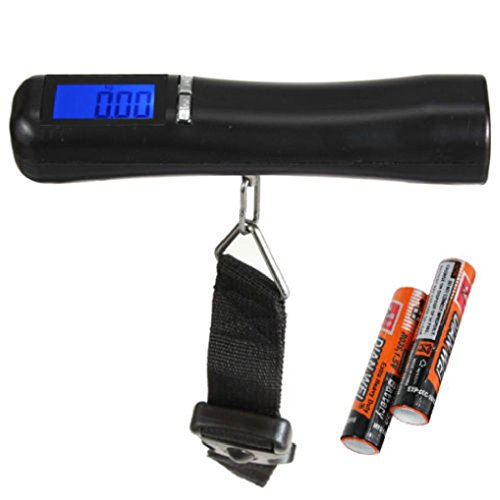 40kg/10g 88Lb Portable LCD Electronic Travel Luggage Scale - 6