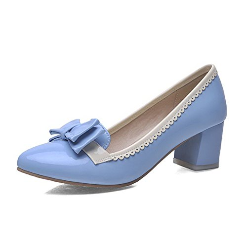 Kitten Assortito Pu Pull Tacchi Donna D Pointed Colore Odomolor Toe Closed On S7YxH
