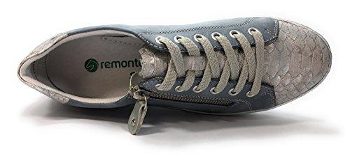 Remonte Oui Amovible Baskets Femme Mode Semelle D5800 Bleu Y4XzqrxYw