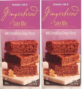 Trader Joe's Gingerbread Cake Mix 14oz. (2 pack) ()