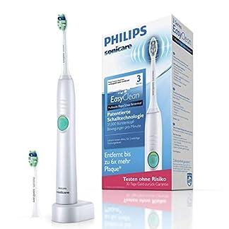 Philips Sonicare EasyClean Zahnbürste HX6512/45 - elektrische Schallzahnbürste mit Clean-Putzprogramm, Timer, Ladegerät & zwei Aufsteckbürsten – Weiß 7
