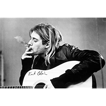 GB Eye Kurt Cobain Smoking Poster