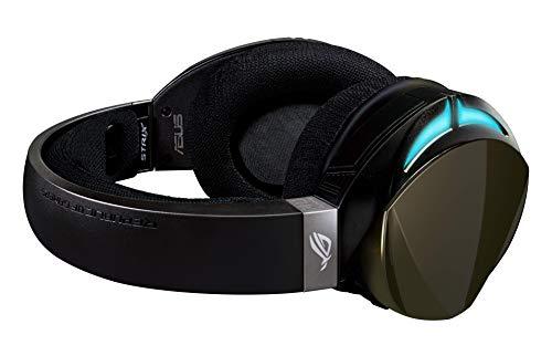 Asus ROG Strix Fusion 500 - Auriculares gaming con iluminación RGB sincronizable entre auriculares que puedes controlar…