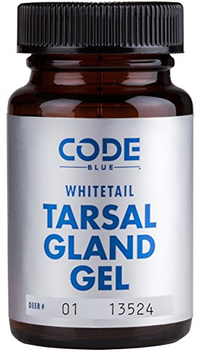 - Code Blue Whitetail Tarsal Gland Gel
