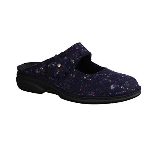 Blau 06560 Pantofole 570046 Comfort Finn Donna TqYXWw