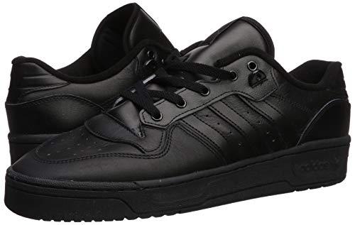adidas Originals Men's Rivalry Low Sneaker, core Black/core Black/FTWR White, 12 M US