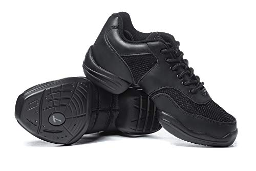 Adult Split-Sole Sneaker T8000BLK08.5 Black 8.5 M US