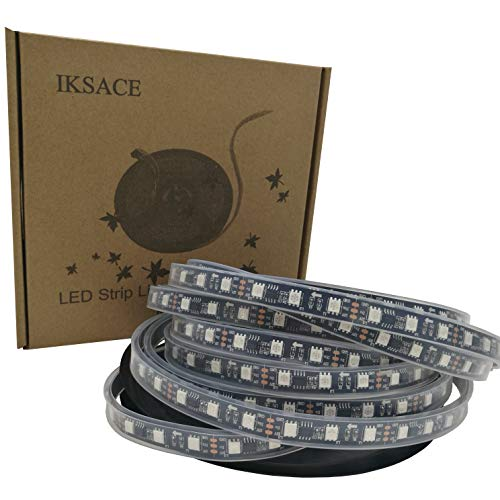 IKSACE 16.4ft WS2811 300LEDs DC 12V Addressable Programmable Dream Color LED Digital Strip Pixel Strings 5050 RGB Flexible Colorful Rope LED Strip (Pack no Remote Controller) by IKSACE (Image #7)