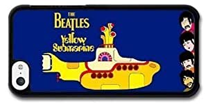 Beatles Hard Plastic Protective Case Cover For Iphone 5/5s (WCA Custom Designed)