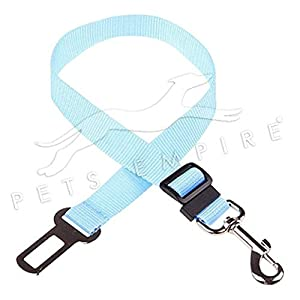 Pets Empire Dog Seat Belt, Dog Cat Car Safety Seat Belt Harness Adjustable Leads Harness for Cars Vehicle-1 Piece Color May Vary.