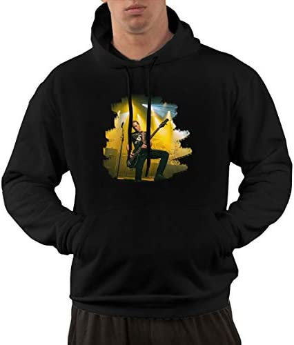 Wujiaoxing Agalloch Klassischer Komfort Herren Hoodie Sweatshirt Black Mode Kapuzenpullover