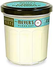 Mrs. Meyer's Clean Day Scented Soy Aromatherapy Candle, Made with Soy Wax and Essential Oils