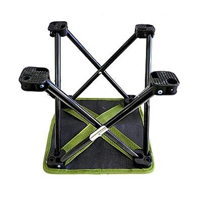 Mini Folding Portable Fishing Stool Lightweight Travel Stool Beach Beach Chair Camping Chair : Sports & Outdoors