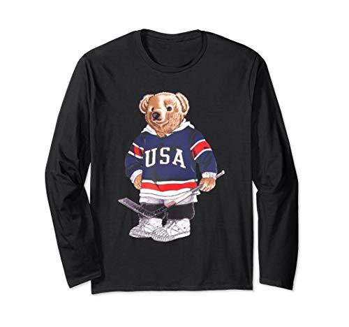 - Polo Teddy Bear Hockey Funny Shirt