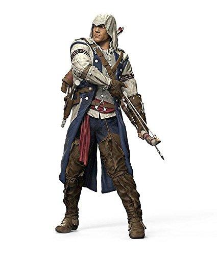 Assassin's Creed detailreiche Actionfigur Connor, aus Kunststoff (H: 18cm)