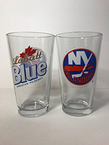 Labatt Blue - NY Islanders - 16 Ounce Pint Glass - for sale  Delivered anywhere in USA