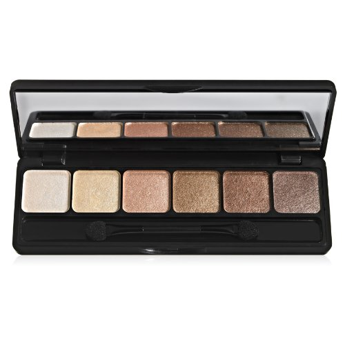 e.l.f. Prism Eyeshadow, Naked, 0.42 Ounce (Best Eyeshadow Palette For Brown Eyes 2019)