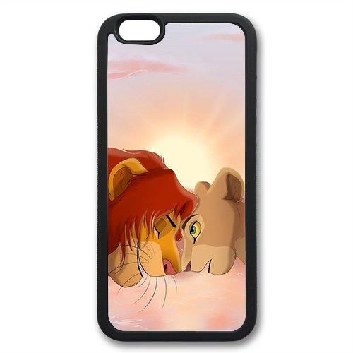 Coque silicone BUMPER souple IPHONE 5c - Roi Lion Simba Pumba the Lion King motif 4 DESIGN case+ Film de protection OFFERT
