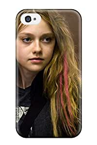 Tpu Case Cover Compatible For Iphone 4/4s/ Hot Case/ Dakota Fanning In Push