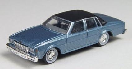 Amazon Com 1978 Chevrolet Impala Met Silver Blue 1 87